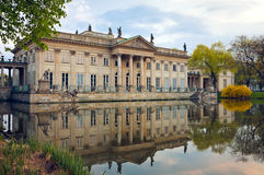 Palace on the Water / Warsaw royalty free stock photo