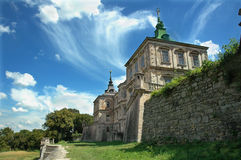 Palace in western Ukraine Stock Photography