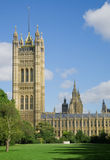 Palace of Westminster. The Palace of Westminster, Houses of Parliament London stock photo