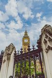 Palace of Westminster and Big Ben in London city centre. LONDON, UNITED KINGDOM - August, 13th, 2015: Palace of Westminster and Big Ben in London city centre Royalty Free Stock Image