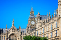 Palace of Westminster, Big Ben in London, United Kingdom Royalty Free Stock Images