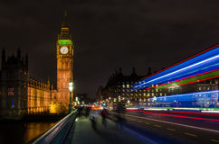 The Palace of Westminster. Big Ben is the nickname for the Great Bell of the clock at the north end of the Palace of Westminster in London Stock Photos