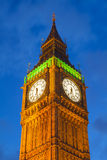 The Palace of Westminster Big Ben at night, London Royalty Free Stock Photo