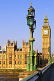 Palace of Westminster from bridge Stock Photography