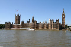 Palace of Westminster. Stock Photo