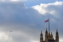 Palace of Westminster - London Stock Photo