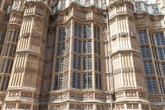 Palace of Westminster, details, London, United Kingdom Royalty Free Stock Photography