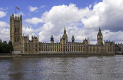 Palace of Westminster. Stock Photos