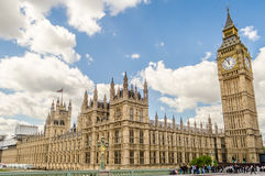 Palace of Westminster, Houses of Parliament, London Stock Photography