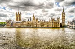Palace of Westminster, Houses of Parliament, London. UK Royalty Free Stock Image