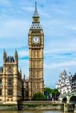 The Palace of Westminster, London Stock Photo