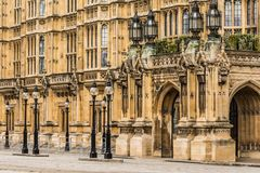 The Palace of Westminster, London Royalty Free Stock Photo