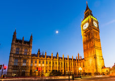 The Palace of Westminster, London Royalty Free Stock Images