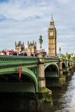 The Palace of Westminster, London Stock Image