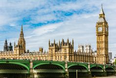 The Palace of Westminster, London stock photos