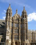 The Palace of Westminster in London, England, Europe Royalty Free Stock Photos