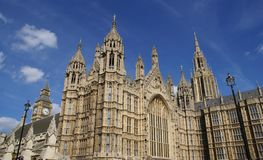 Palace of Westminster, London, England Royalty Free Stock Photos