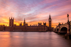 Palace of Westminster, London Royalty Free Stock Photo