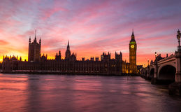Palace of Westminster, London Royalty Free Stock Photography