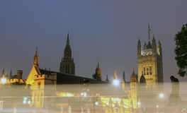 The Palace of Westminster, London, UK Royalty Free Stock Photos