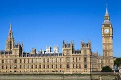 Palace of Westminster in London Stock Photography