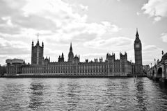 The Palace of Westminster is the meeting place of the House of C Royalty Free Stock Photography