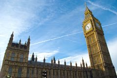 Houses of parliament, London Royalty Free Stock Photos