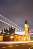 Palace of Westminster at Night Royalty Free Stock Photo