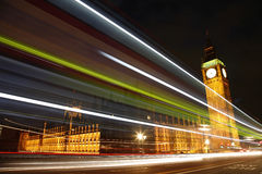 Palace of Westminster at Night Stock Photo