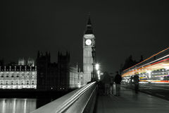 Palace of Westminster at Night Stock Photography