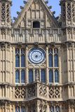 Palace of Westminster, parliament, facade, London,United Kingdom Royalty Free Stock Image