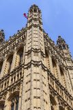 Palace of Westminster, parliament, facade, London,United Kingdom Royalty Free Stock Photos