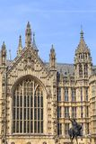 Palace of Westminster, parliament, facade, London, United Kingdom Stock Images