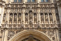 Palace of Westminster, parliament, facade, London, United Kingdom Stock Photos
