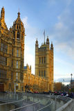 Palace of Westminster, Parliament Houses, London Royalty Free Stock Photography