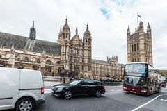 Palace of Westminster or  Parliament of the United Kingdom Royalty Free Stock Images