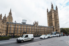 Palace of Westminster or  Parliament of the United Kingdom Stock Images