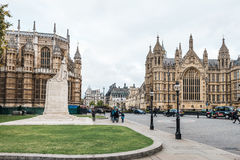 Palace of Westminster or  Parliament of the United Kingdom Royalty Free Stock Photography