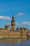 Palace of Westminster in the Summer Royalty Free Stock Image