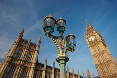 The Palace of Westminster Royalty Free Stock Photo