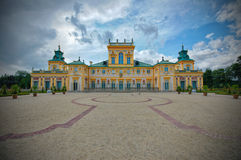 Palace in Wilanow, Poland Royalty Free Stock Image