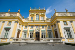 Palace in Wilanow, Poland Royalty Free Stock Photo