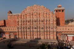 Palace of the Winds. Scenic view of Palace of the Winds in Jaipur, India Stock Photo