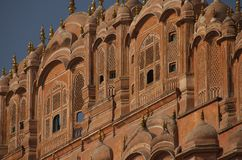 Palace of the Winds in India Stock Photos