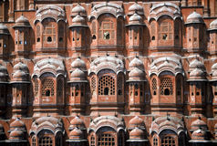 Palace of Winds,India. Facade of the Palace of The Winds,India Stock Image