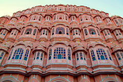 Palace of the winds, in Jaipur Royalty Free Stock Image
