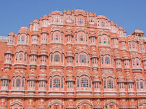 The Palace of the Winds at Jaipur, India Stock Photos