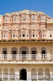 Palace of Winds, Jaipur, Rajasthan, India. Hawa Mahal, the Palace of Winds in Jaipur, Rajasthan, India Stock Photos