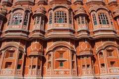 The Palace of Winds, Jaipur, Rajasthan, India close up. Hawa Mahal, the Palace of Winds, Jaipur, Rajasthan, India close up Stock Image