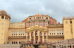 The Palace of Winds, Jaipur. royalty free stock photo